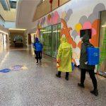 教学楼清洁与消毒
